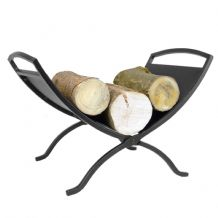 Compact Log Tray - Black